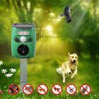 ONE or FOUR Outdoor / Yard Solar Sonic Pest Repeller for Dog Cat Bird Rodent