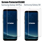 For Samsung Galaxy S8+ / Galaxy S8 Poetic Tempered Glass Screen Protector-Clear