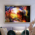 Colorful Sky Jesus Print Canvas Oil Painting Art Modern Wall Living Room Decor