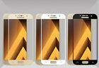 Samsung Galaxy J7 Prime Black Gold White Color Full Tempered Glass