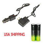 New Rechargeable Battery Li-ion 18650 3.7V Battery SKYWOLFEYE Dual Charger A2