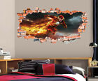 The Flash Wall Decal Smashed Wall Art Sticker Home Decor Kids Mural Marvel LT39