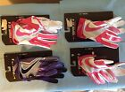 NIKE VAPOR JET 4 Youth High Speed Skill Football Gloves Pink GF0560: Size S,M,L
