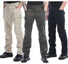 men Cargo trousers Army military Tactical Combat long Camping hiking Pants