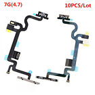 10PCS for iPhone 5 5C 5S 6 6S 7 Plus Power Button Switch On Off Flex Cables