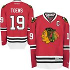 New Mens REEBOK NHL PREMIER JERSEY Jonathan Toews Red Home Chicago Blackhawks