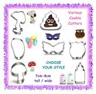 Various SMALL cookie cutters - CHOOSE YOUR STYLE - cake cupcake fondant gumpaste