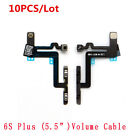 10 PCS for iPhone 4 4G 4S 6 6S Plus NEW Volume Mute Silent Flex Cable