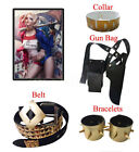 Batman DC Comic Suicide Squad Harley Quinn Costume Cosplay Accessories Belt USA