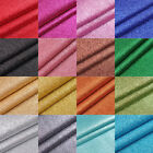 Fine Glitter Fabric A4 Or A5 Sheets In Plain Colours For Hair Bows DIY Crafts