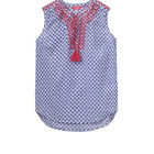 Joules Womens Otille Vest Top Ikat and Starfish Design Size 8 & 14