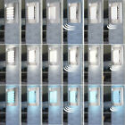 LED outdoor wall lights RGB remote control façade sensor dimmable entrance lamps