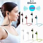 earphone with bluetooth - Wireless Bluetooth 4.1 Stereo Earphone Earbuds Sport Headset Headphone with Mic