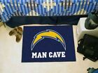 """NFL - San Diego Chargers Man Cave Starter Rug 19""""x30"""" $29.35 USD"""