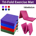 Folding Exercise Floor Mat Dance Yoga Gymnastics Training Home Judo Pilates Gym
