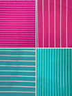 Micro Lycra Jersey 4 Way Stretch Fabric- Horizontal Stripes SQ96