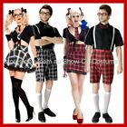 SCHOOL GIRL SCHOOL BOY FANCY DRESS COSTUMES