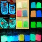 Noctilucent Luminous Glow Gravel Fish Tank Sand Fluorescent Particles Aquarium