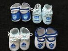 Baby Boys First Crib Shoes - Mum, Dad, Prince, It's a Boy