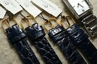 ONE PIECE DARK BLUE 14mm PATENT LEATHER STRAP QUICK FIT