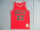 NBA Michael Jordan #23 Chicago Bulls RETRO Red swingman jersey - size S/M/L/XL