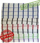 Quality 100% Cotton Tea Towels Kitchen Dish Cleaning Checks Terry Tea Towel New