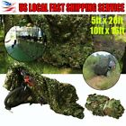 Woodland Leaves Camouflage Camo Army Net Netting Camping Hunting US EK