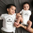 Внешний вид - Newborn Kids Baby Little Brother Romper Bodysuit Big Brother  Cotton T-shirt