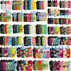 Women's Girl Wholesale Socks Lot 6-8 9-11 Mixed Assorted Designs Colors Novelty