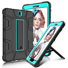 For Samsung Galaxy Tab S3 9.7 Slim Shockproof Rugged Stand TPU Armor Case Cover