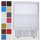 Quality Roller Blinds Chrome Eyelet Blind - Free Cut to Fit Service