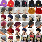 Unisex Mens Knitted Slouchy Beanie Cap Baggy Winter Hat Oversize Skateboard Caps