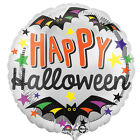 Happy Halloween 18 Foil Balloons Childrens Fun Halloween Party Decorations
