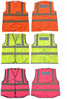 Kids Pony Equestrian Horse Riding Rider Hi Vis Waistcoat Yellow, Orange or Pink