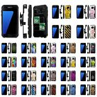 For Samsung Galaxy [S7] Armor Case [Kickstand] [Holster] [Screen Protector] - N