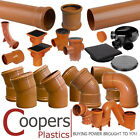 Underground Drainage 110mm, Pipe & Fittings incl Bends, Traps, Chamber Bases etc