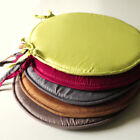 Luxury Foam PLAIN ROUND SEAT PADS / CUSHIONS WITH TIES
