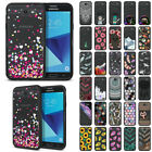 For Samsung Galaxy J7V J727/ J7 Sky Pro/ Perx Black Clear Bumper Case Cover