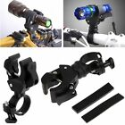 360° Swivel Rotation Bicycle Bike Mount Holder Clip Clamp for Flashlight Torch