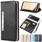 Shockproof Magnetic Flip Leather Card W/Strap Case Cover For Samsung S8/S8 Plus