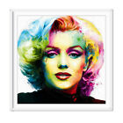 Hot Print Marilyn Monroe Abstract Oil Painting on Canvas Wall Art Decor No Frame