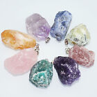 Reiki Natural Gemstone Stone Crystal Quartz Healing Chakra Pendant For Necklace