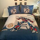 *** Transformers Queen Bed Quilt Cover Set - Flat or Fitted Sheet ***