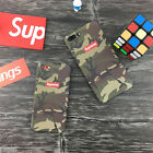 Supreme Camouflage Matte Army AAPE Protective Hard Phone Case Cover For iPhone