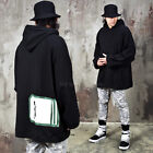 NewStylish Mens Fashion Clothing Tops Patchwork Accent Oversized Hoodie