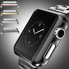 For Apple Watch 38/42MM iWatch 2 Hard Bumper Case Full Screen Protector Cover