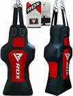 RDX Punching Bag Heavy Stuffed Set Boxing Gloves Training Muay Thai Hook & Loop
