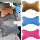 Memory Foam Soft Gel Top Pillow Bone Shape Neck Head Pain Car Travel Cushion image