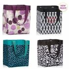 Thirty one Essential Storage utility tote bag 31 gift navy lotsa dot & more NEW