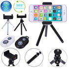360° Rotation Stand Tripod Holder Mount with Bluetooth Remote for iPhone Samsung